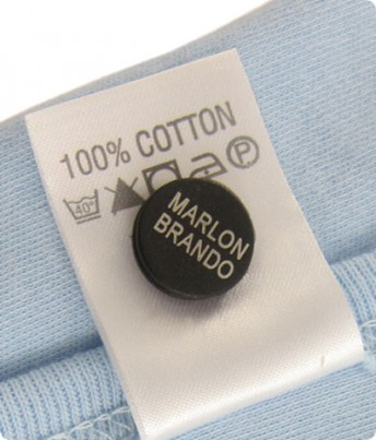 iron on labels